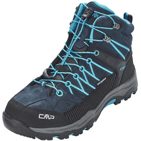 CMP Campagnolo Rigel Mid WP Trekking Shoes Junior Asphalt-Cyano